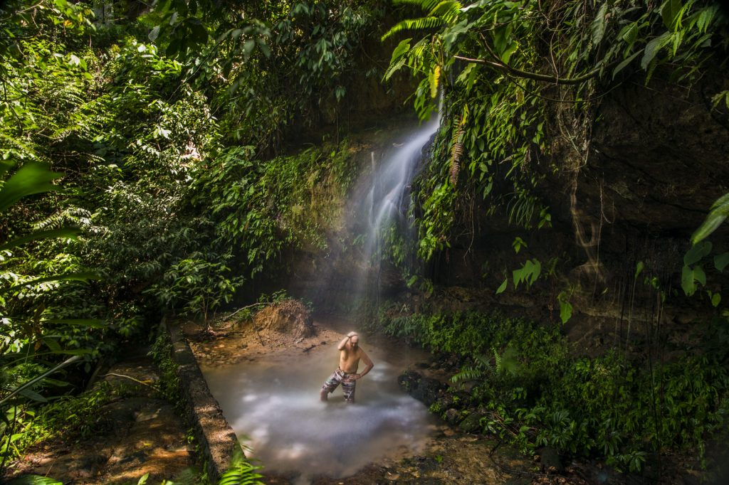 Bohorok river Bukit Lawang