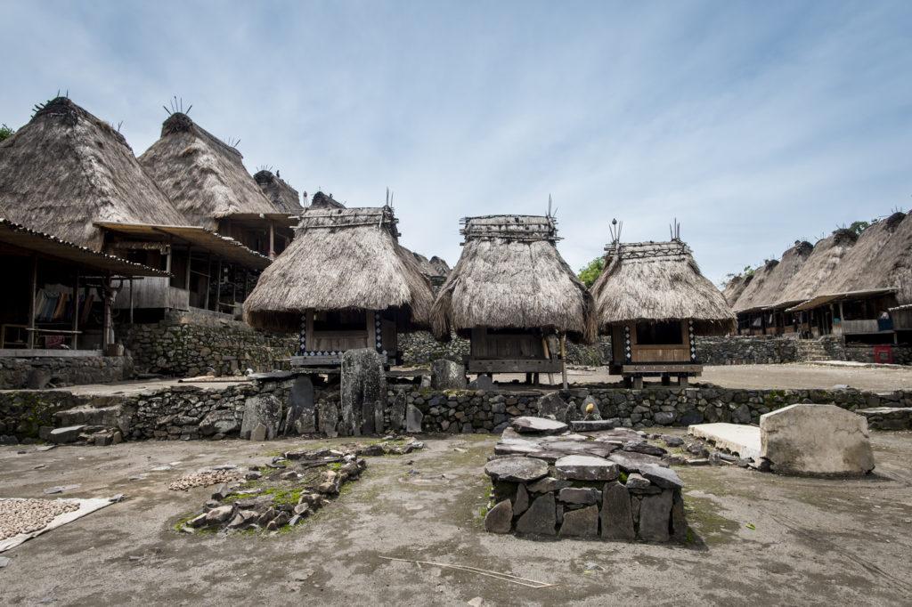 Kampung Bena bij Bajawa