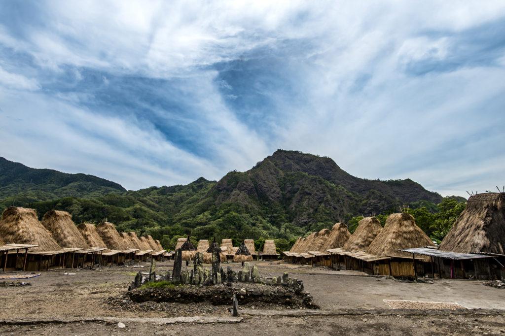 Kampung Gurusina bij Bajawa