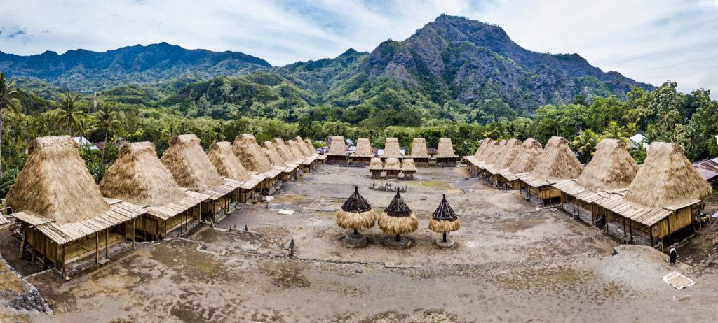 Gurusina dorp bij Bajawa