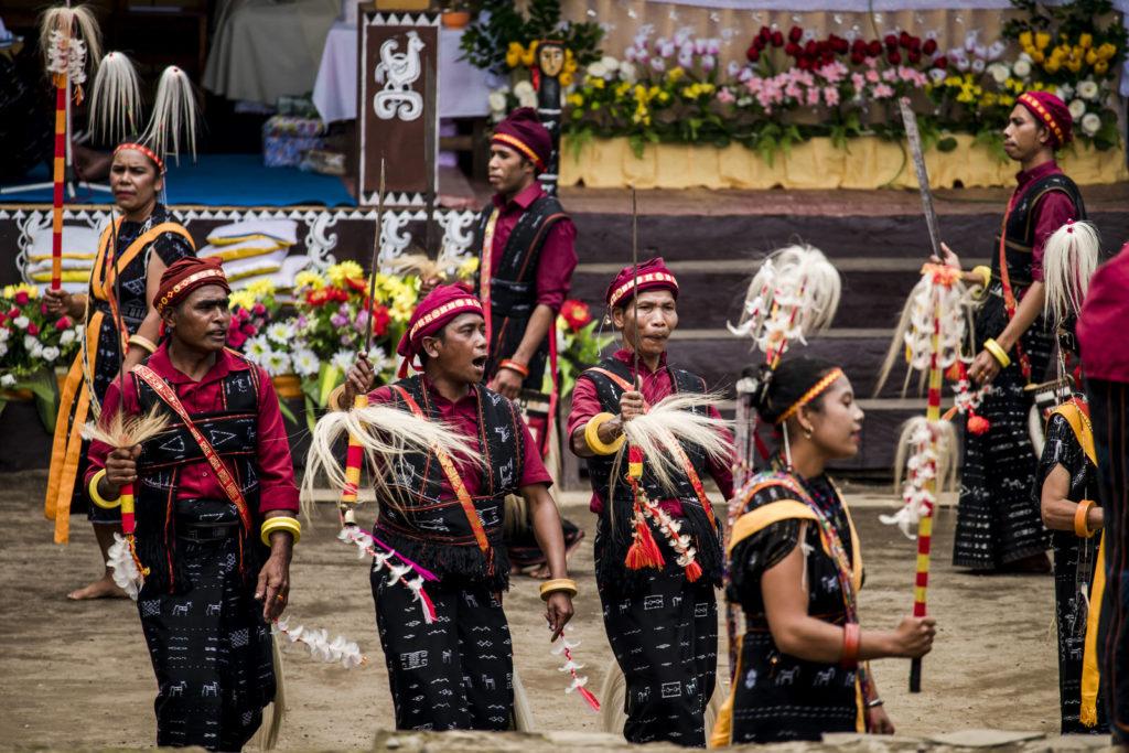 feest in Bajawa